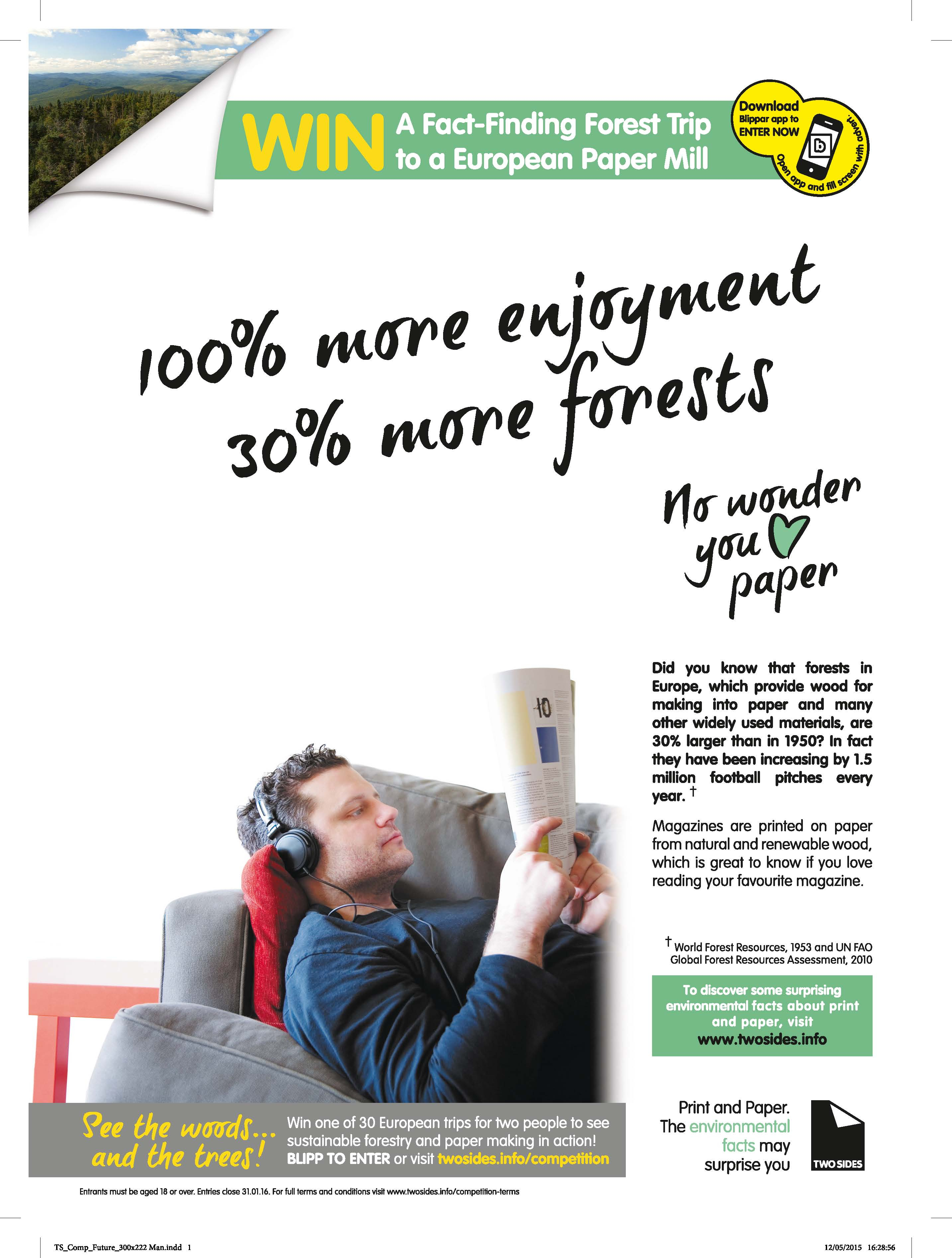 Love Paper Advert