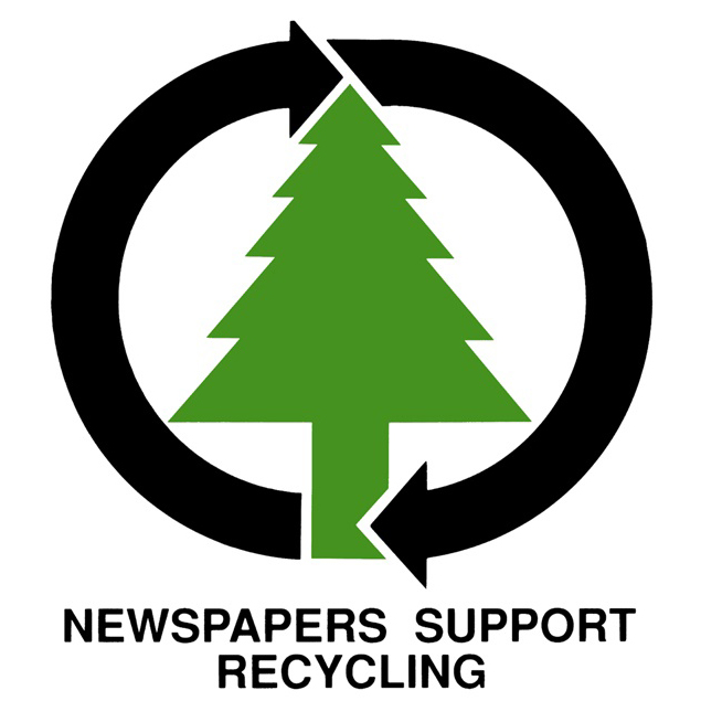 Newspapers support recycling