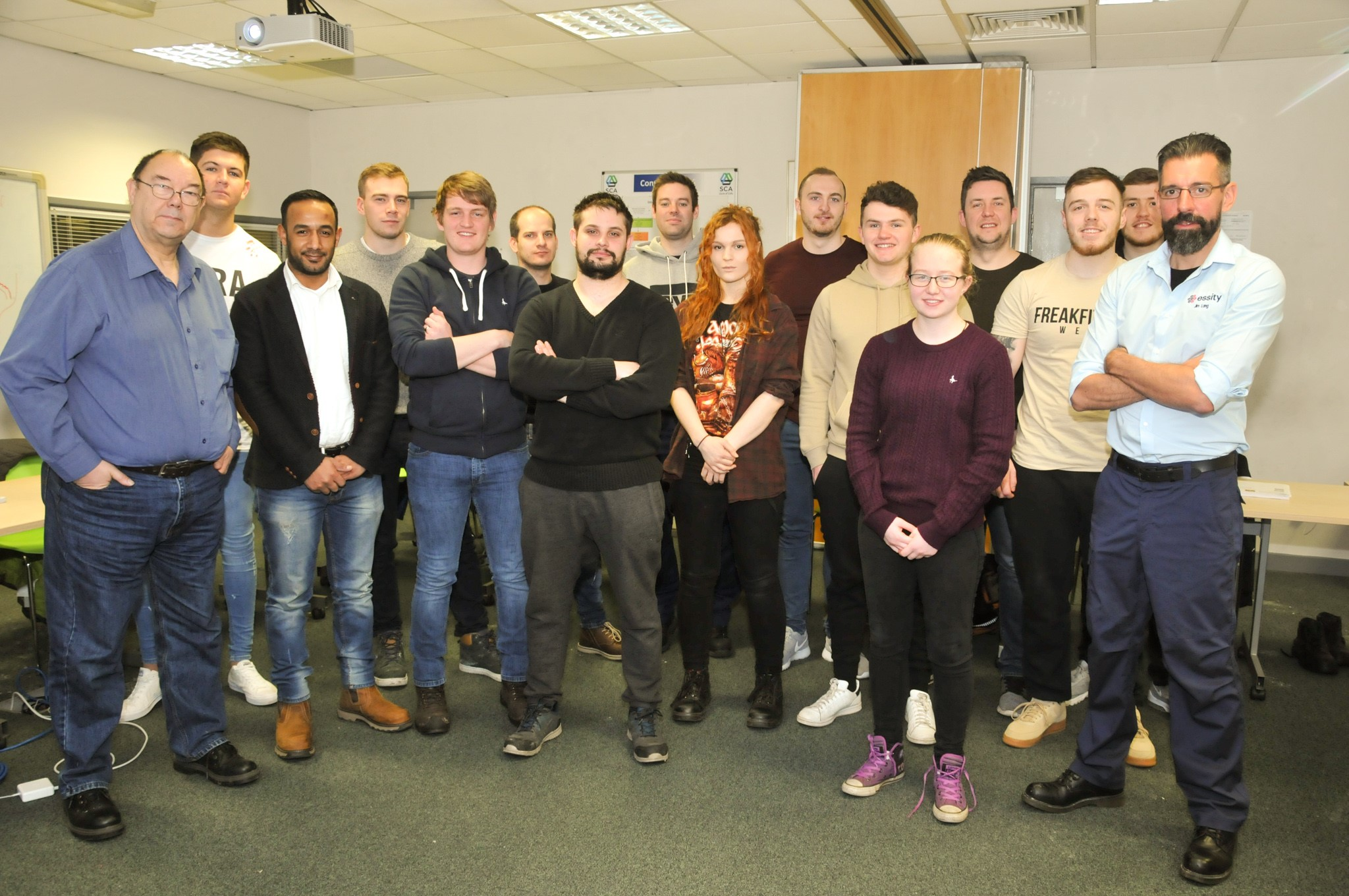 Paper Industry Welcomes New Apprentices