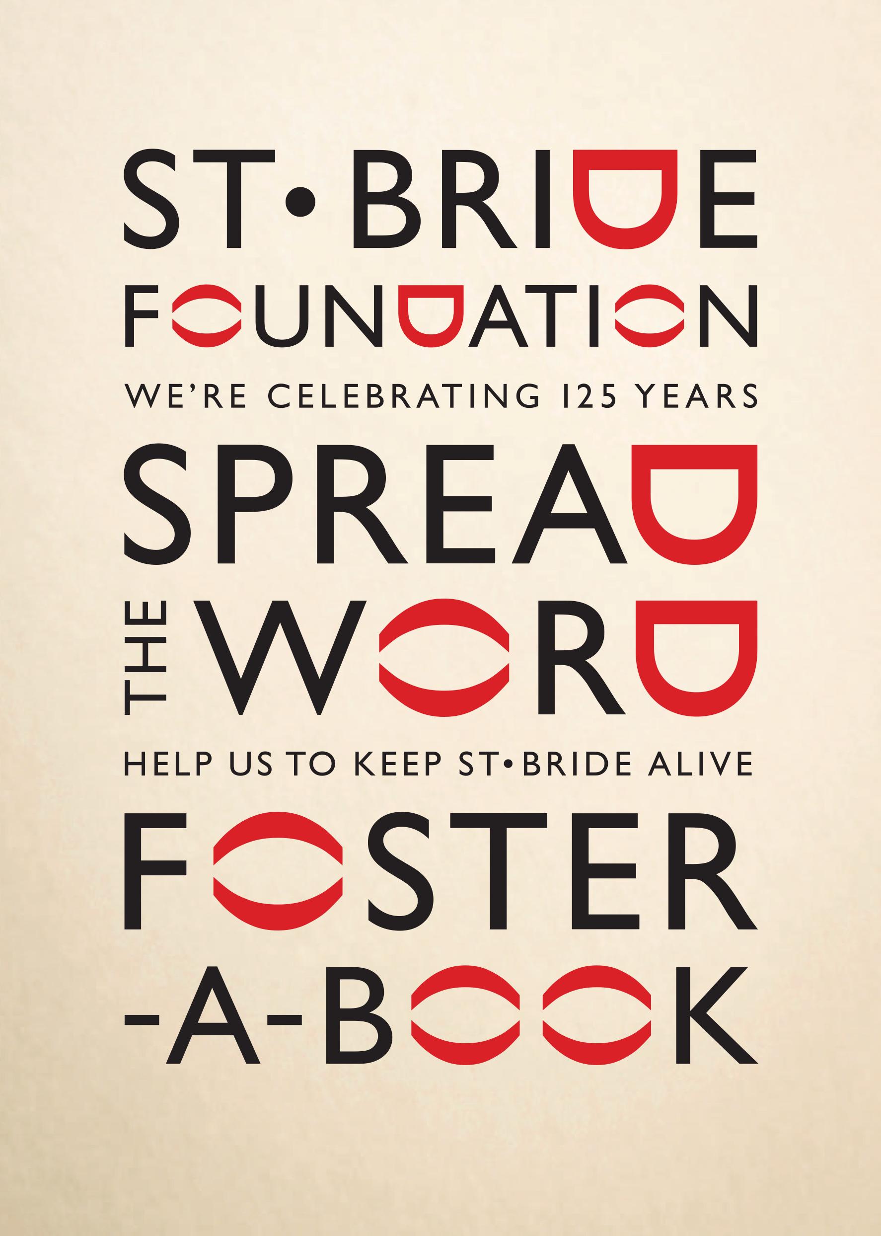 St Bride Foundation Poster 1