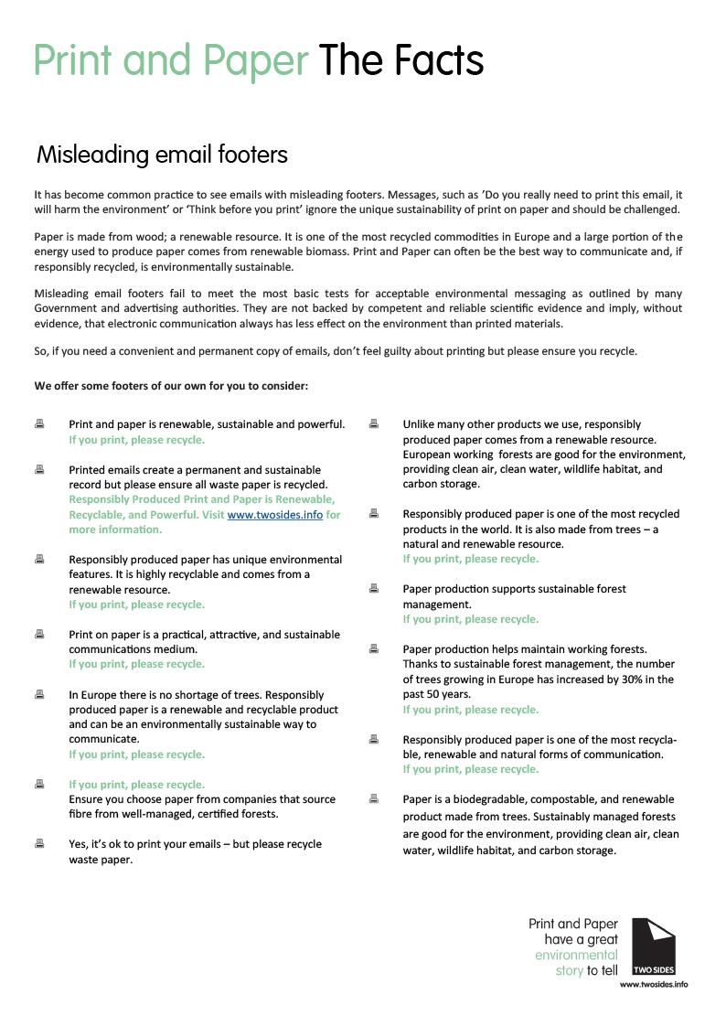 Anti-greenwash Fact Sheet